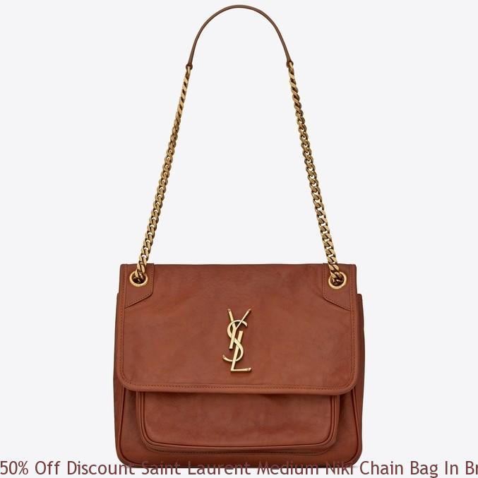 50 Off Discount Saint Laurent Medium Niki Chain Bag In