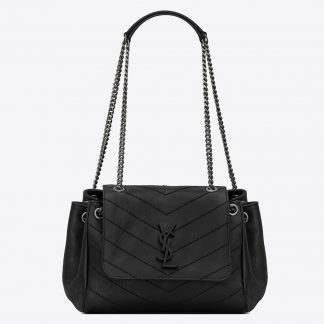 Aaa Replica Saint Laurent Small Nolita Bag In Black