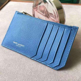 info for 2f43d d7170 Best Saint Laurent Blue 5 Fragments Zip Pouch Card Holder New Orleans, LA -  ysl shoes net a porter - 1568