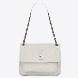 Sale Saint Laurent Large Monogramme Envelope Beige