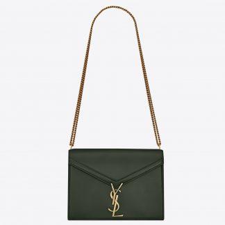 c8b4f8d0ef High Quality Saint Laurent Dark Green Cassandra Monogram Clasp Bag Norfolk,  VA – ysl tote bags sale – 2556