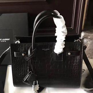 Loudon Saint Laurent Baby Sac De Jour Souple Bag In Black